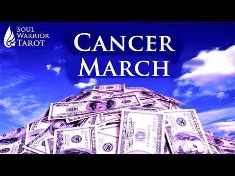 🍀CANCER MARCH MONEY CAREER BUSINESS SUCCESS READING Soul Warrior Tarot
