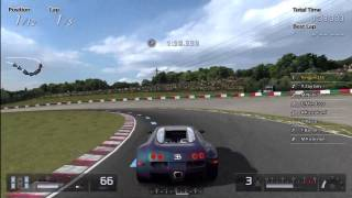 Gran Turismo 5 - Bugatti Veyron Fully Tuned Racing Gameplay [1080 HD]