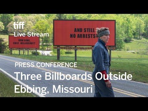 THREE BILLBOARDS OUTSIDE EBBING, MISSOURI Press Conference | Festival 2017