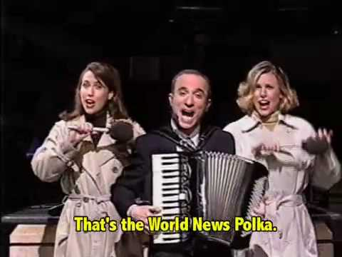 World News Polka: Karaoke!