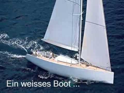 Ein weißes Boot 0001 - YouTube