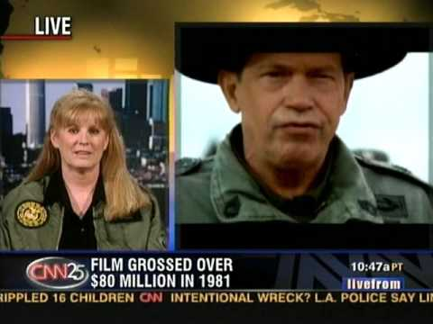 PJ Soles & Judge Reinhold on CNN talking about STRIPES