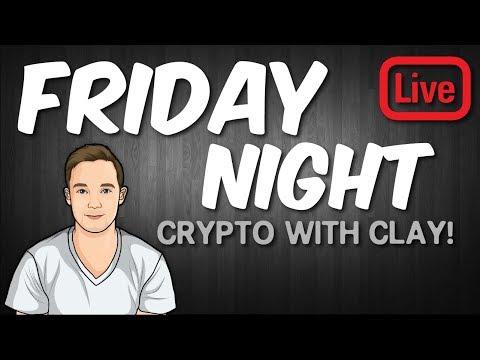 Bitcoin Market Manipulation and Bitcoin Futures - Friday Night Live - Crypto Clay