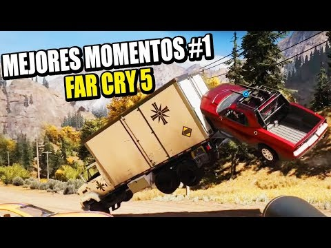 MEJORES BUGS Y MOMENTOS DIVERTIDOS #1 - FAR CRY 5 COOP | Gameplay Español - VICIO ONE MORE TIME