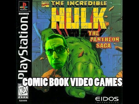 Comic Book Video Games: Hulk The Pantheon Saga (PS1)