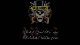 Sweet Child O' Mine (Standard Tuning) Lyrics and Chords Mp3