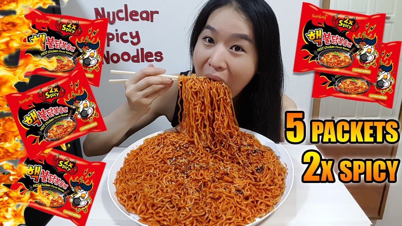 Download NUCLEAR FIRE NOODLES CHALLENGE • Mukbang •  Eating Show