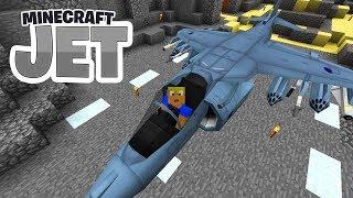 NEUER Jet! Harrier Senkrechtstarter! Mein Militärgebäude! - Minecraft JET #07