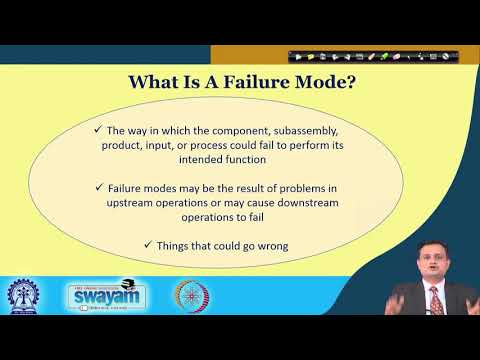 Lecture 37: Failure Mode Effect Analysis (FMEA)