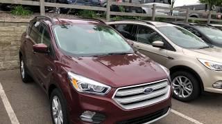 2018 Ford Escape SEL Tour / Overview