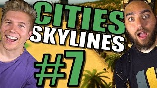 Cities Skylines: Gameplay [Mods] After Dark & Snowfall | Traffic and Tips Tutorial– Part 7