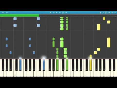 Taio Cruz (Feat. Flo Rida) - Hangover (Piano Cover) [Synthesia]