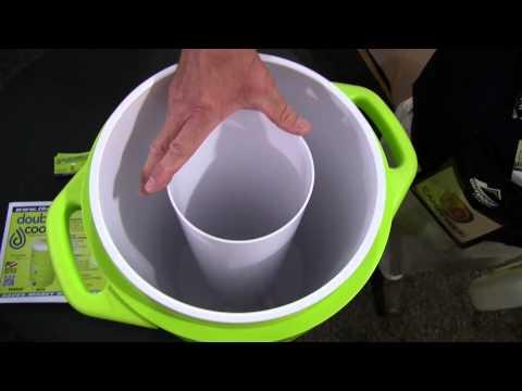 A Dual-Chamber, Dual-Dispensing Beverage Cooler Design