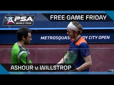 Squash: Free Game Friday - Ashour v Willstrop - Windy City Open 2014