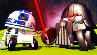 Малярная Мастерская Тома - ПОГРУЗЧИК малыш Френсис - Р2Д2 из Звёздных Войн! - детский мультфильм