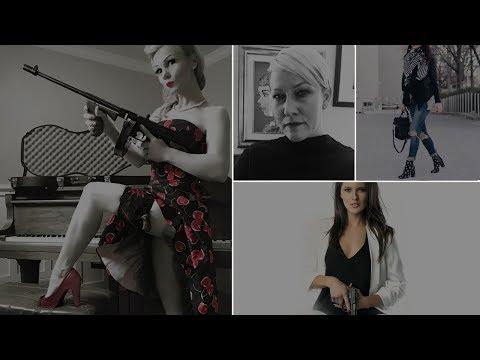 Look Great Shoot Straight #2 - Emily Valentine, Tiffany Dillon and Alysia Burrows