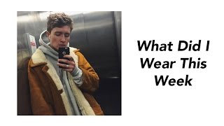 WHAT DID I WEAR THIS WEEK?