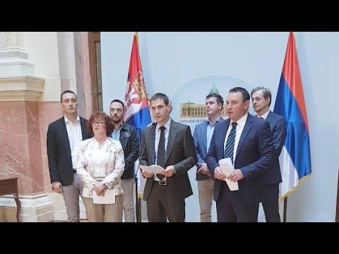 UŽIVO iz Skupštine DSS udara po Vučiću zbog Kosova