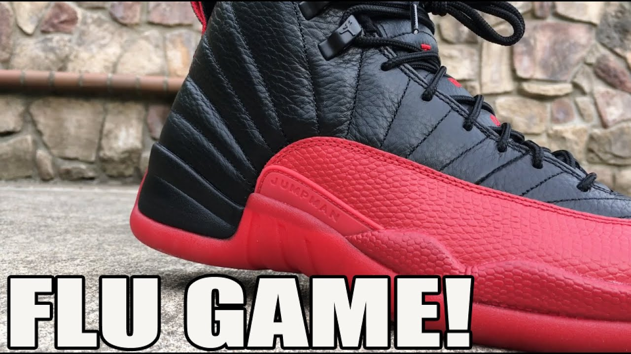 5e61c236bbef Air Jordan 12  Flu Game  aka BRED Review w  On Feet (Retro XII ...