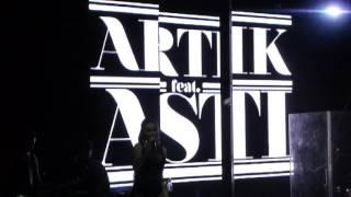 Артик и Асти - Никому не отдам. Очень Очень (Концовка)   Artik & Asti @ Red Club Moscow