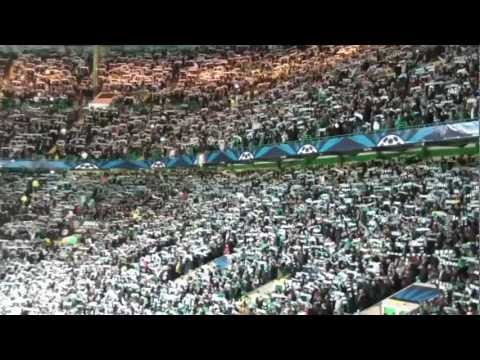 BEST FOOTBALL ATMOSPHERE EVER!! CELTIC vs FC BARCELONA - You