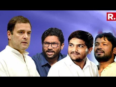 Top Cong Sources Tell Republic TV About Roping In Hardik Patel, Jignesh Mevani And Kanhaiya Kumar
