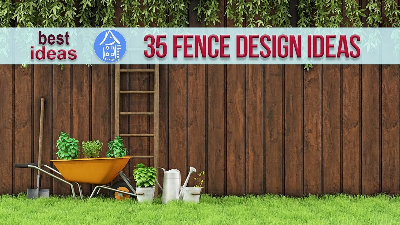 35 Fence Design Ideas For Garden And House 2017 Beautiful Modern Ideas Youtube