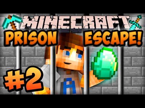 """Minecraft PRISON ESCAPE V2 - Episode #2 w/ Ali-A! - """"GIMME DIAMONDS!"""""""
