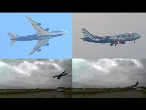 In Memory Of The Crew Of National Cargo Airlines Boeing 747 HD