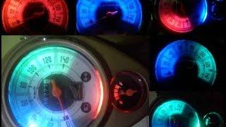 Cara Membuat Lampu LED  Spidometer Motor mobil