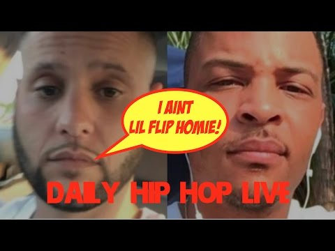"DJ Frank White Says ""I Ain't Lil Flip"" to T.I.; T.I. Responds 