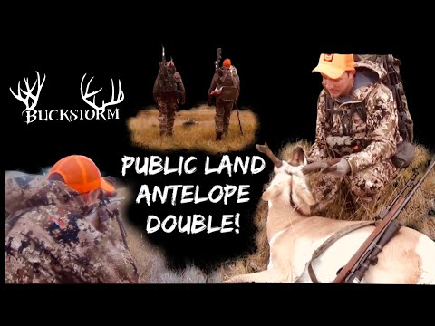 Public Land Double | Antelope Hunt | South Dakota