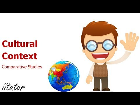 √ Plan a Comparative Study, Cultural Context | English | iitutor