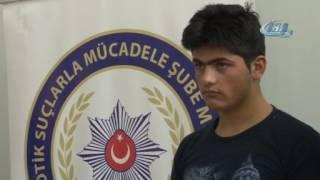 İranlı kuryenin midesinden eroin çıktı