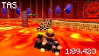 [MK7 TAS] GBA Bowser Castle 1 (No-Glitch) - 1:09.423
