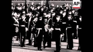 Emperor of Ethiopia at Sandhurst - 1954
