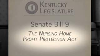 SB9 - The Nursing Home Profit Protection Act