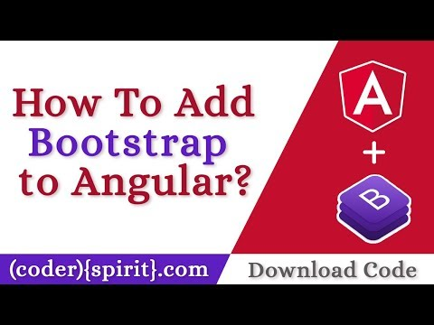 How To Add Bootstrap In Angular 8 ? thumbnail