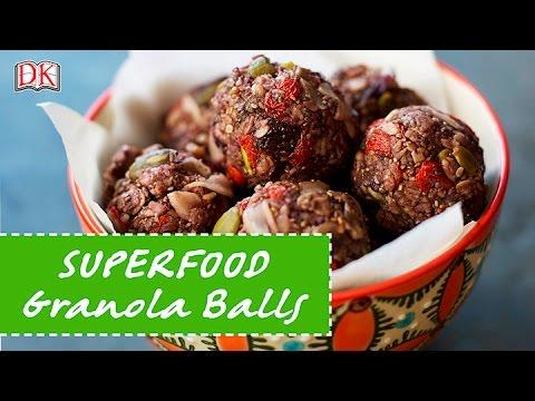 Superfood Granola Balls
