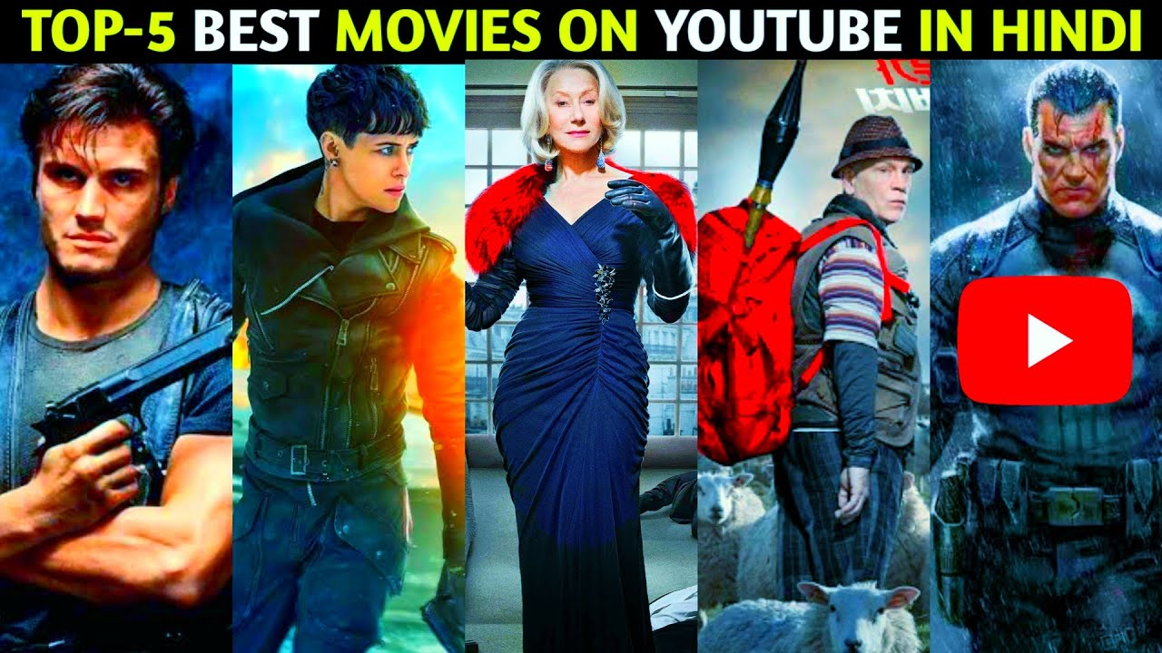Top 5 Hollywood Best Movies Available On YouTube In Hindi | Part 87