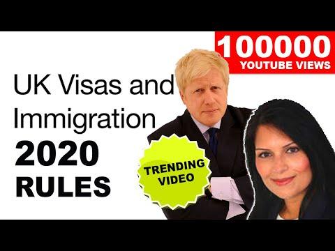 UK 2020 VISA AND IMMIGRATION RULES | BORIS JOHNSON | PRITI PATEL | BREXIT | UKVI |2020 HD