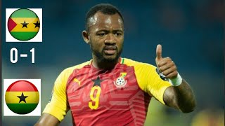 Ghana vs Sao Tome 1-0 All Highlights amp Goals 2019  AFCON2021 QUALIFIER