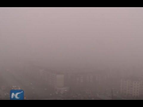 Worst smog of the year chokes Beijing