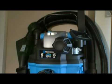 Vacmaster Wall Mount Wet Dry Vacuum Youtube