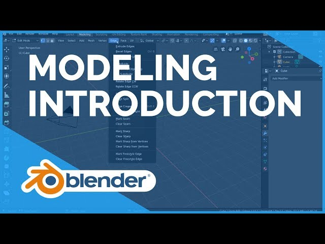 Modeling Introduction - Blender 2.80 Fundamentals