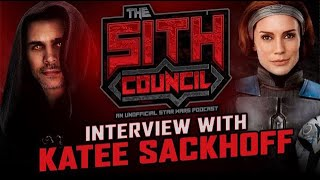 Katee Sackhoff Interview: Bo Katan, The Mandalorian Sith Council #2