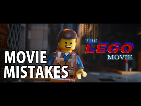 20 Movie Mistakes - The Lego Movie, flubs, blunders, errors, misses