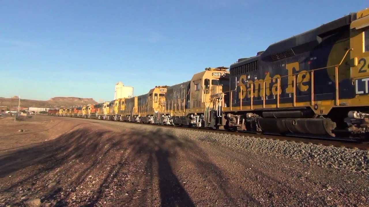 Massive Bnsf Power Move 27 Locomotives Youtube