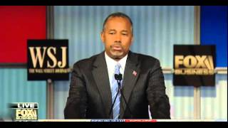Ben Carson Closing Remarks at the FOX Business Debate - 11/10/2015
