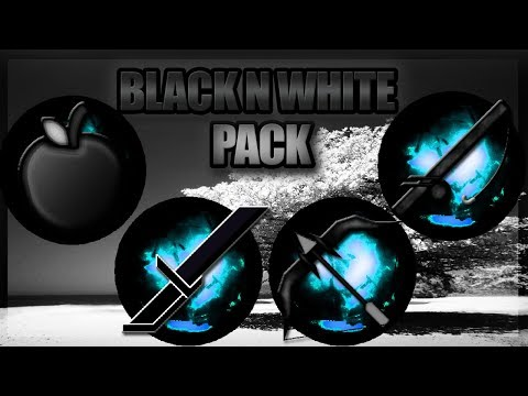 ★ Minecraft PvP Texture Pack l Black n White (1.7/1.8) ★